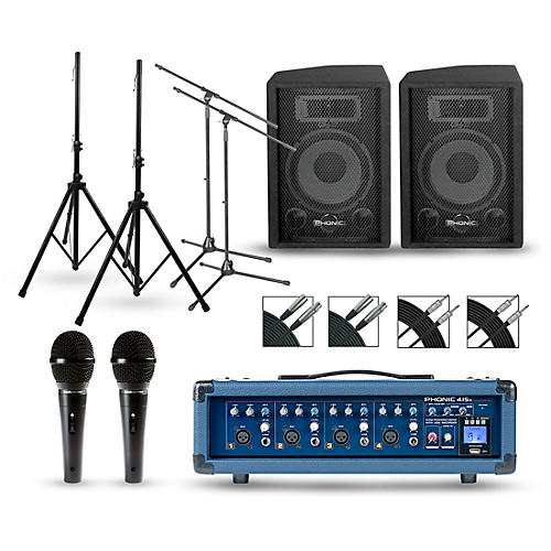 Phonic Powerpod 415R with S7 Series Speakers PA Package