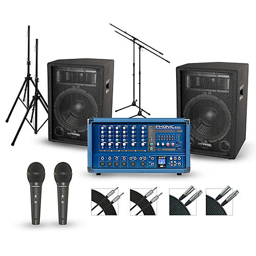 Phonic Powerpod 630R with S7 PA Package