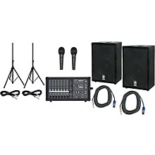 Phonic Powerpod 740 Plus Mixer with Yamaha A12 Speakers PA Package