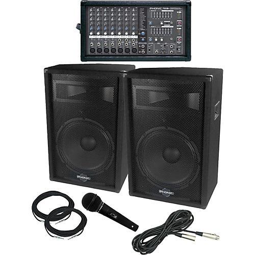 Phonic Powerpod 780 / S715 PA Package
