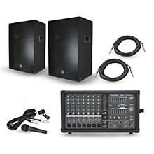 Powerpod 780 Plus Mixer with GSM Speakers PA Package 15