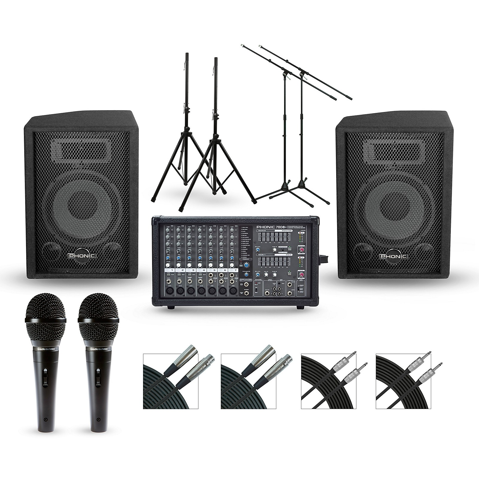 Phonic Powerpod 780 with S7 PA Package