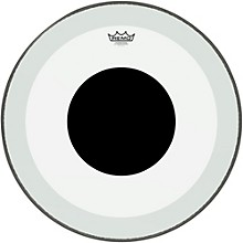 Powerstroke 3 Clear Bass Drum Head with Black Dot 23 in.