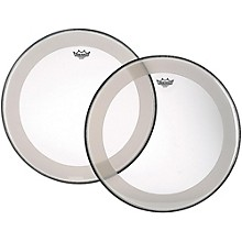 Powerstroke 4 Clear Batter Bass Drum Head with Impact Patch 40 in.