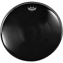 Powerstroke 4 Ebony Batter Bass Drum Head with Impact Patch 24 in.