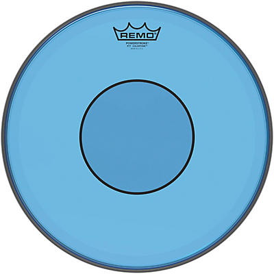 Remo Powerstroke 77 Colortone Blue Drum Head