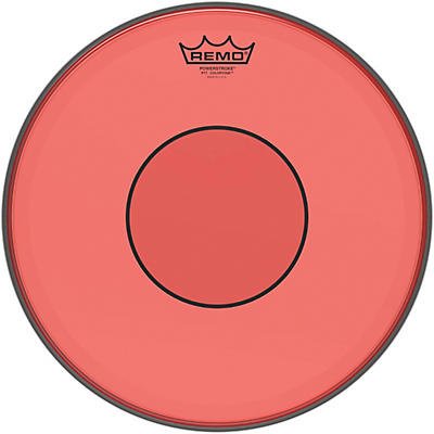 Remo Powerstroke 77 Colortone Red Drum Head