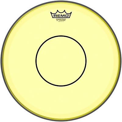 Remo Powerstroke 77 Colortone Yellow Drum Head