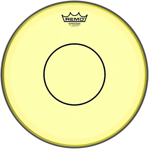 Remo Powerstroke 77 Colortone Yellow Drum Head