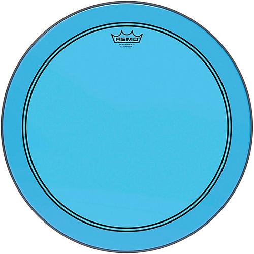 Remo Powerstroke P3 Colortone Blue Bass Drum Head