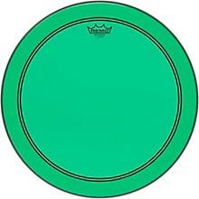 Powerstroke P3 Colortone Green Bass Drum Head 18 in.