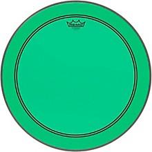 Powerstroke P3 Colortone Green Bass Drum Head 20 in.