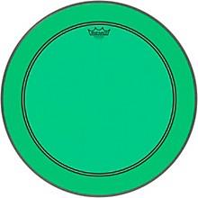 Powerstroke P3 Colortone Green Bass Drum Head 22 in.