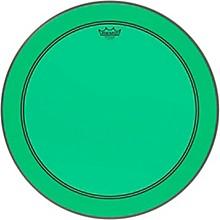 Powerstroke P3 Colortone Green Bass Drum Head 24 in.