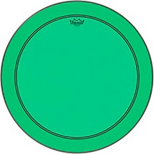 Powerstroke P3 Colortone Green Bass Drum Head 26 in.