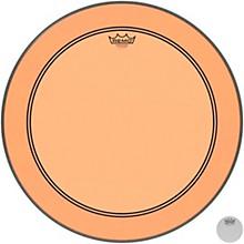 Powerstroke P3 Colortone Orange Bass Drum Head 22 in.
