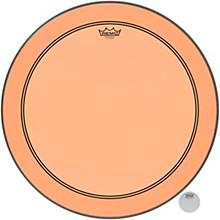 Powerstroke P3 Colortone Orange Bass Drum Head 24 in.