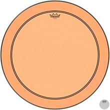 Powerstroke P3 Colortone Orange Bass Drum Head 26 in.