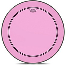 Powerstroke P3 Colortone Pink Bass Drum Head 22 in.