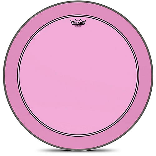 Remo Powerstroke P3 Colortone Pink Bass Drum Head