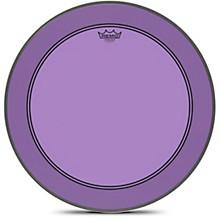 Powerstroke P3 Colortone Purple Bass Drum Head 22 in.