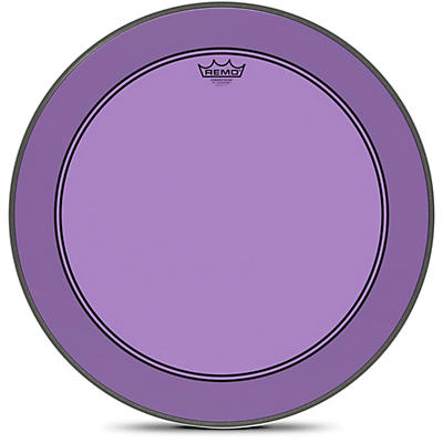 Remo Powerstroke P3 Colortone Purple Bass Drum Head