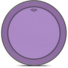 Powerstroke P3 Colortone Purple Bass Drum Head 24 in.