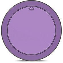 Powerstroke P3 Colortone Purple Bass Drum Head 26 in.