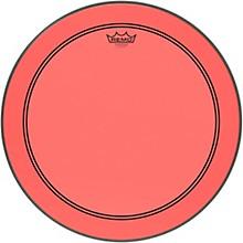Powerstroke P3 Colortone Red Bass Drum Head 20 in.
