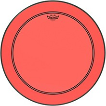 Powerstroke P3 Colortone Red Bass Drum Head 22 in.
