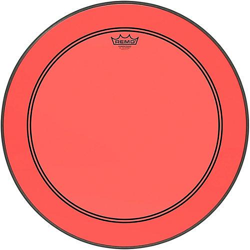 Remo Powerstroke P3 Colortone Red Bass Drum Head