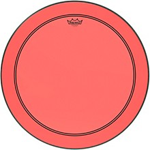 Powerstroke P3 Colortone Red Bass Drum Head 24 in.