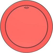 Powerstroke P3 Colortone Red Bass Drum Head 26 in.