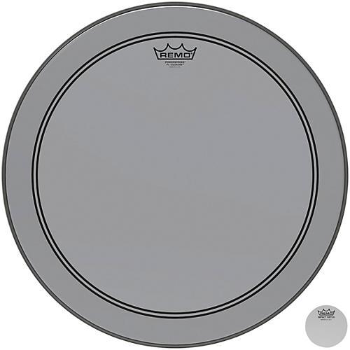 Remo Powerstroke P3 Colortone Smoke Bass Drum Head 18 in.