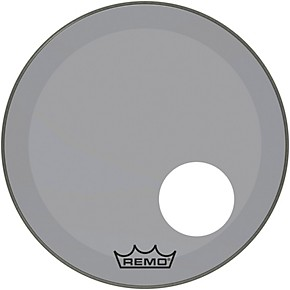 remo powerstroke p3 colortone smoke resonant bass drum head with 5 offset hole 18 in. Black Bedroom Furniture Sets. Home Design Ideas