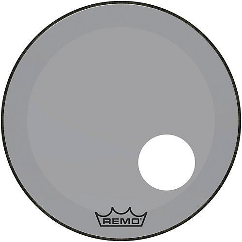 Remo Powerstroke P3 Colortone Smoke Resonant Bass Drum Head with 5