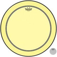 Powerstroke P3 Colortone Yellow Bass Drum Head 20 in.