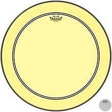 Powerstroke P3 Colortone Yellow Bass Drum Head 22 in.
