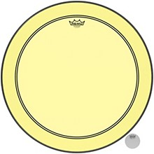 Powerstroke P3 Colortone Yellow Bass Drum Head 24 in.