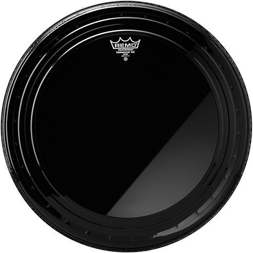 Remo Powerstroke Pro Bass Drumhead Ebony 22 in.