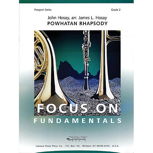 Curnow Music Powhatan Rhapsody (Grade 2 - Score Only) Concert Band Level 2 Composed by James L Hosay