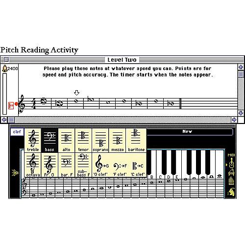 Ars Nova Practica Musica Ear Training Software