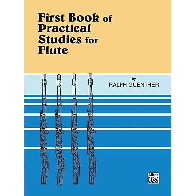 Alfred Practical Studies for Flute Book I