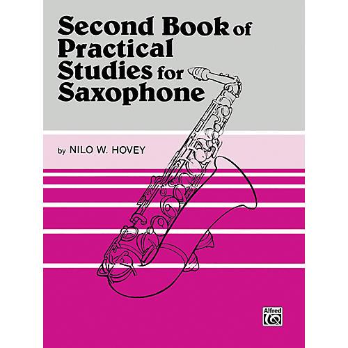 Alfred Practical Studies for Saxophone Book II