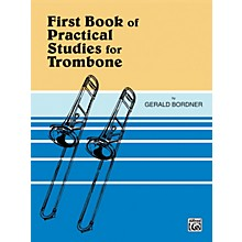 Alfred Practical Studies for Trombone Book I