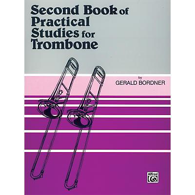 Alfred Practical Studies for Trombone Book II Book II