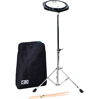 CB Percussion Practice Pad Kit with Stand & Bag