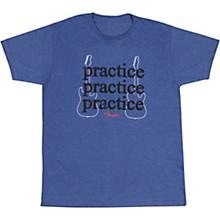 Practice T-Shirt Large Heathered Blue