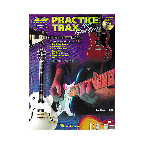 Musicians Institute Practice Trax for Guitar (Book/CD)