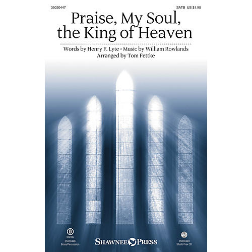 Shawnee Press Praise, My Soul, the King of Heaven Studiotrax CD Arranged by Tom Fettke